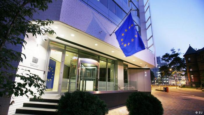 The EU embassy in Washington