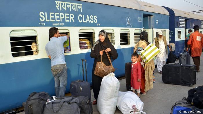 Pakistan - Samjhauta Express Zug (Imago/Xinhua)