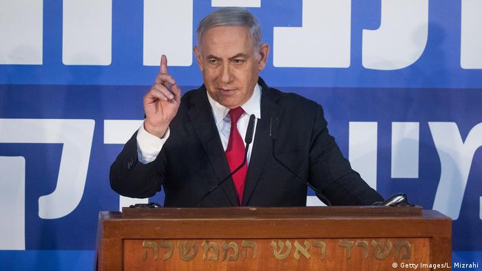 Israel Premierminister Benjamin Netanjahu
