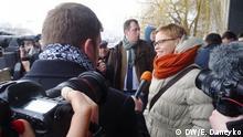Weißrussische Journalistin Marina Solotowa vor Gericht