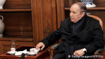 Frankreich - Algerias Präsident Abdelaziz Bouteflika in Krankenhaus in Frankreich