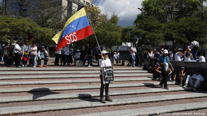 Politische Krise in Venezuela Massenproteste gegen Maduro