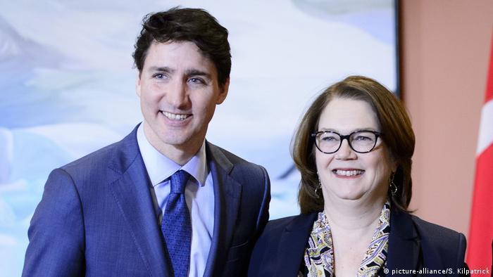 Kanada, Ottawa: Justin Trudeau und Jane Philpott (picture-alliance/S. Kilpatrick)