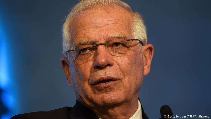 Spanish Foreign Minister Josep Borrell Fontelles