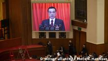 China Kongress Li Keqiang