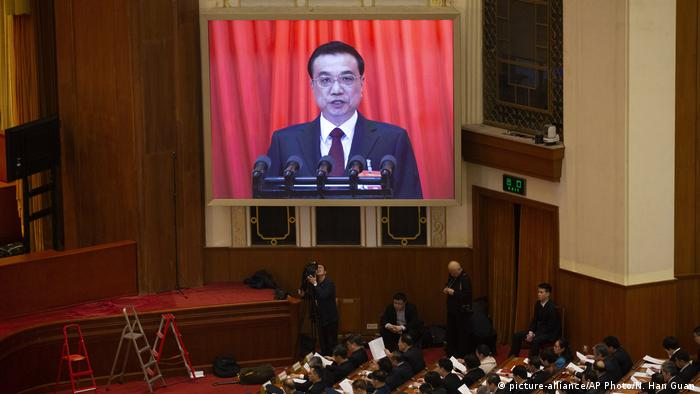 China Kongress Li Keqiang (picture-alliance/AP Photo/N. Han Guan)