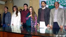 Fayyaz ul Hassan Chohan mit anderen in Pakistan Lahore Press Club