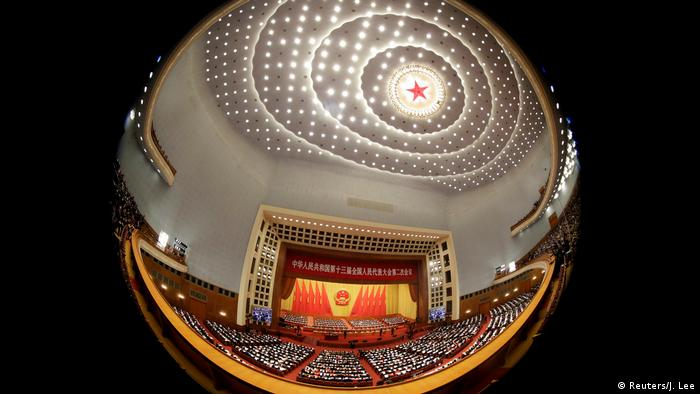 Volkskongress in China (Reuters/J. Lee)