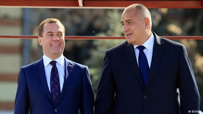 Медведев и Борисов