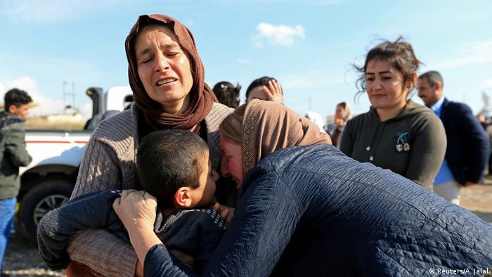 تعرضت النساء الإيزيديات في شمال العراق للاضطهاد على أيدي تنظيم داعش