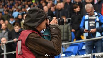 Fotograf Martin Parr (picture-alliance/empics/S. Galloway)