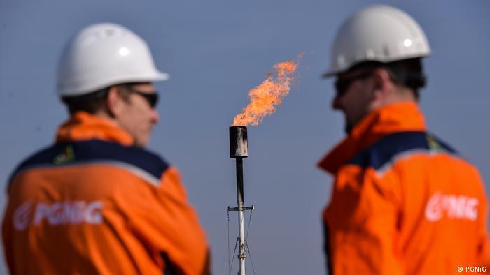 Співробітники польської державної нафтогазової компанії PGNiG