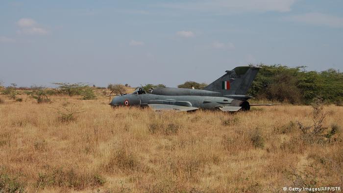 Indien MiG-21 BISON (Getty Images/AFP/STR)