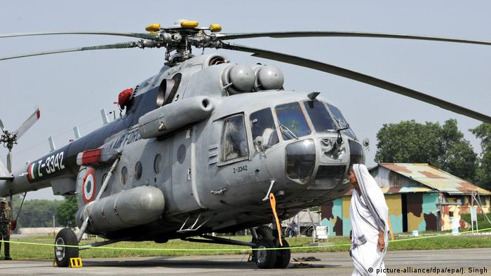 Indien Cheetah Helicopter (picture-alliance/dpa/epa/J. Singh)