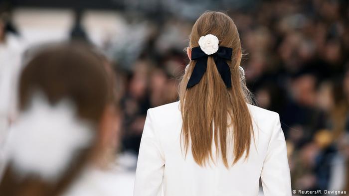 Chanel Modenschau während der Paris Fashion Week