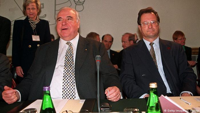 Helmut Kohl und Klaus Kinkel