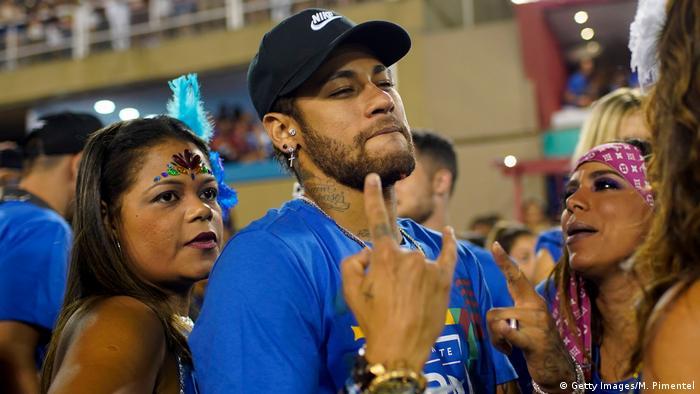 Neymar Brasilien Karneval
