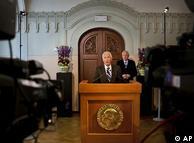Объявление Нобелевского комитета о присуждении премии мира Бараку Обаме