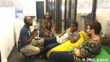 DW Gespräch zu Start-ups in Ghana