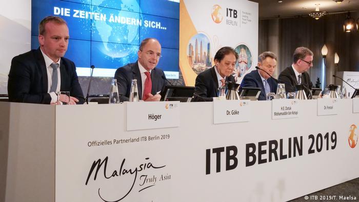 Deutschland Messe ITB Berlin 2019 l Pressekonferenz