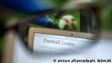 Fussball Internet-Plattform Football Leaks