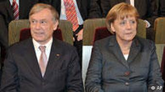 Predsjednik Köhler i kancelarka Merkel
