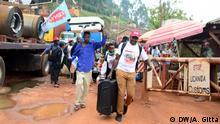 Afrika Uganda l Katuna - Grenze zu Ruanda