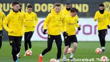 UEFA Champions League Training Borussia Dortmund