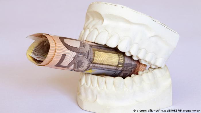 Зубы и деньги