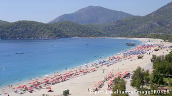 Турецкий курорт Фетхие на Эгейском море