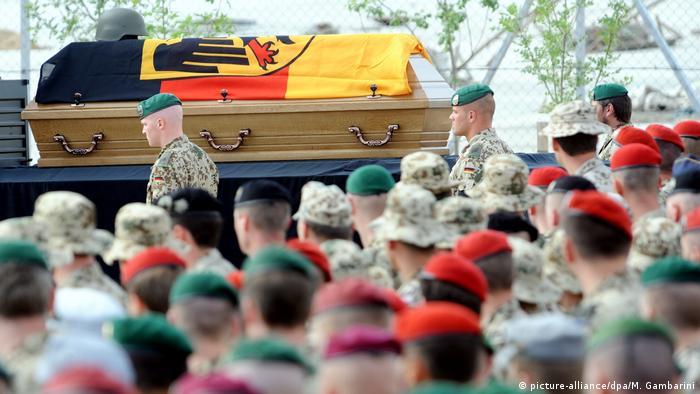 Prizor iz baze Mazari Šarif (2010) - ukupno je u avganistanu stradalo 59 nemačkih vojnika
