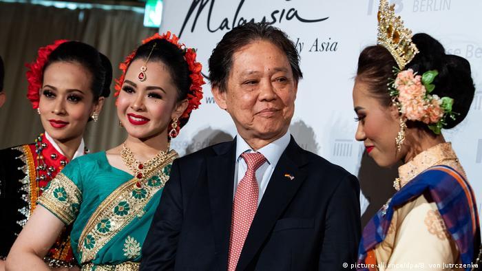 Deutschland Messe ITB Berlin 2019 l Malaysias Minister für Tourismus Datuk Mohamaddin bin Ketapi