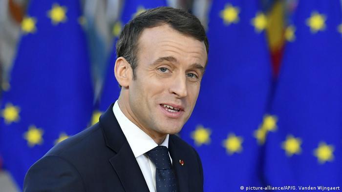Frankreich - Präsident Macron - Europa