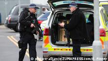 UK Briefbomben in London entdeckt