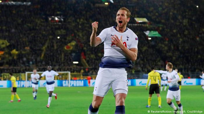 1ebd33a21 Champions League  Harry Kane delivers knockout blow to Borussia Dortmund