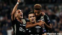 Fußball Champions League l Real Madrid gegen Ajax Amsterdam