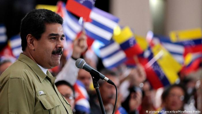 Venezuela Nicolas Maduro ARCHIV (picture-alliance/dpa/Miraflores Press)