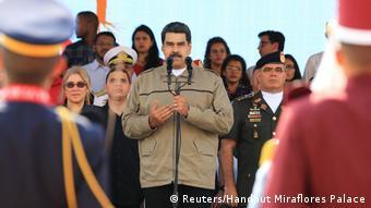 Venezuela Präsident Maduro anläßlich des sechsten Jahrestages des Todes von Hugo Chavez