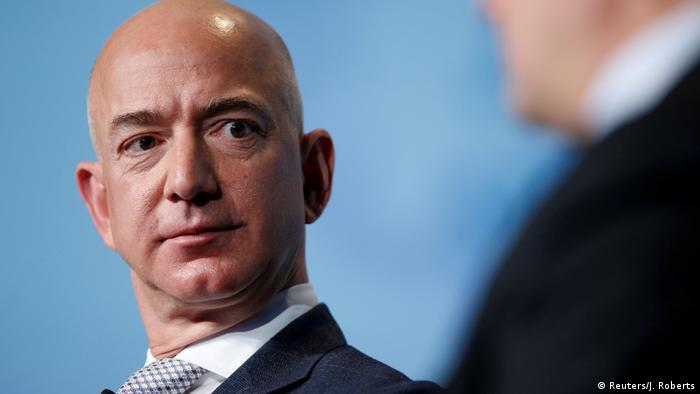 Amazon's Jeff Bezos faces protest in India over negative Washington Post coverage