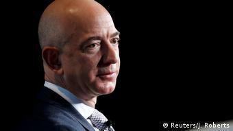 Jeff Bezos, diretor executivo da Amazon