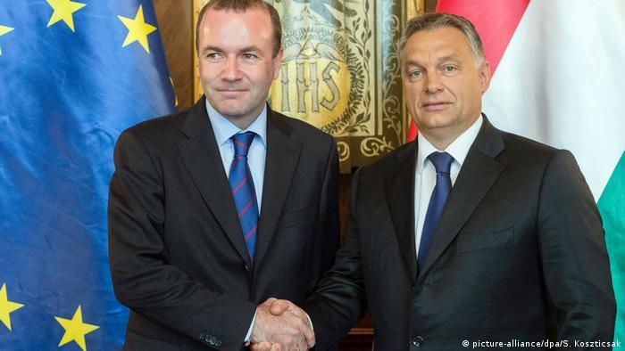 Manfred Weber i Viktor Orban