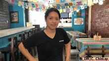 Peru Kochen und Küche in Lima | Betsy Albornoz vor ihrem Restaurant El Populacho