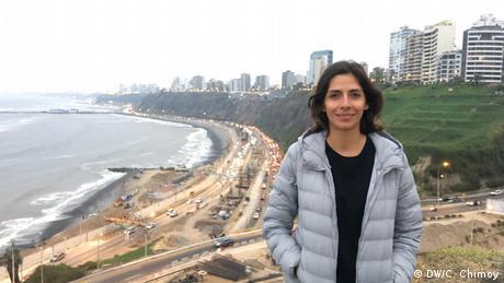 Peru Carolina Chimoy in Lima