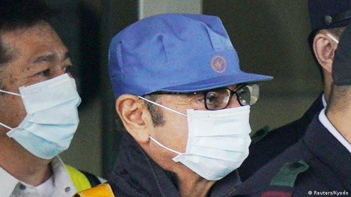 Japan Freilassung von Carlos Ghosn