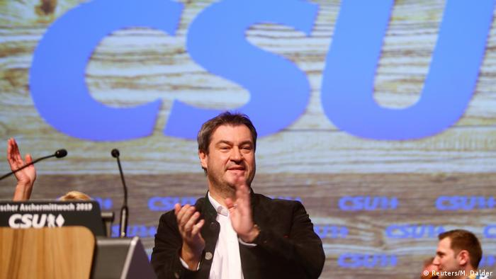 Deutschland Politischer Aschermittwoch CSU Markus Söder