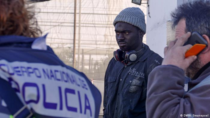 Migranten arbeiten in Spaniens Landwirtschaft (DW/N. Swanepoel)