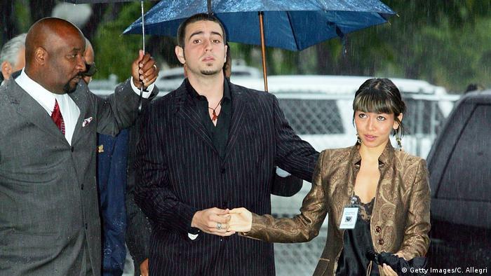 USA 2005 Gerichtsprozess Michael Jackson Kindesmissbrauch | Zeuge Wade Robson (Getty Images/C. Allegri)