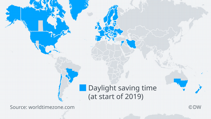 Karte Eu.Daylight Saving Time In The Eu What S It All About All Media