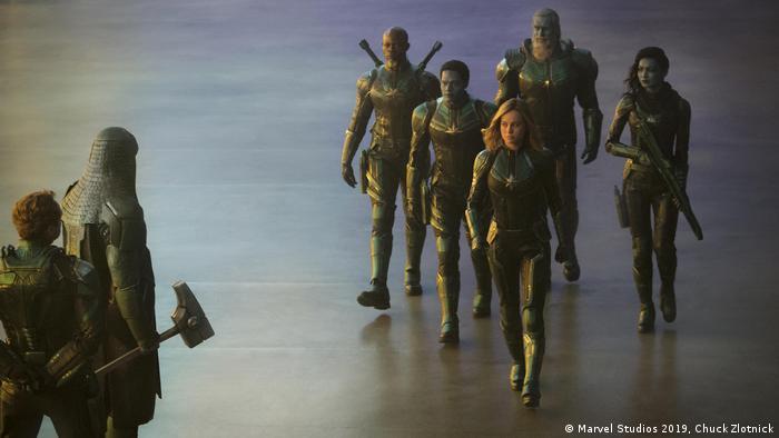 Kinostart Captain Marvel Ist Eine Frau Kultur Dw
