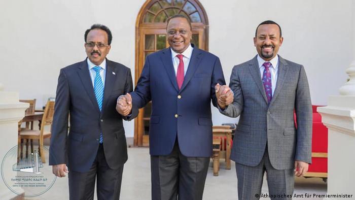 Äthiopien, Somalia und Kenia Leader